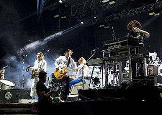 Arcade Fire Indie rock band from Canada