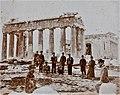 Archivo General de la Nación Argentina 1899 viaje inaugural Fragata Sarmiento, Partenón ruinas.jpg