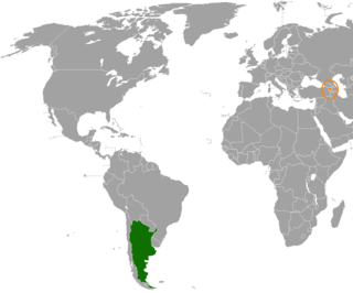 Diplomatic relations between the Argentine Republic and the Republic of Armenia