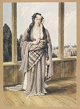 Armenian woman Constantinople 1823.jpg