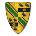 Armorial Bearings of the HANBURY family (Barons Bateman) of Shobdon Court, Herefordshire.png