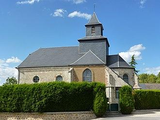Arnicourt - Image: Arnicourt (Ardennes) église