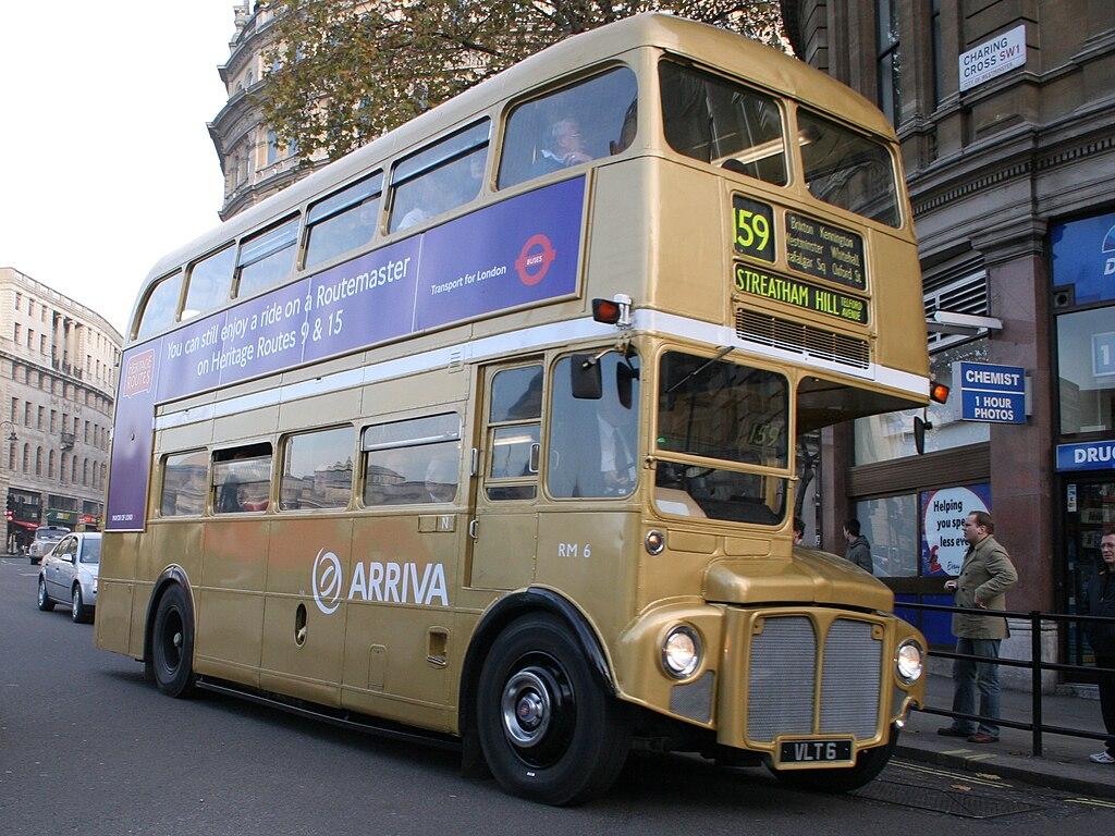 File Arriva London Routemaster Bus Rm6 Vlt 6 Trafalgar