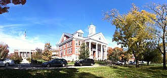 Asbury University - Image: Asbury University Administration Building 1