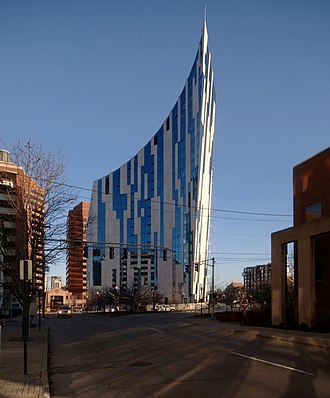 Daniel Libeskind - The Ascent at Roebling's Bridge, Covington, Kentucky