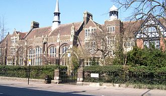 Dunstable Grammar School - Dunstable Grammar School buildings, now used by Ashton Middle School