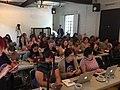 Asistentes a Wiki Women Camp 2017.jpg