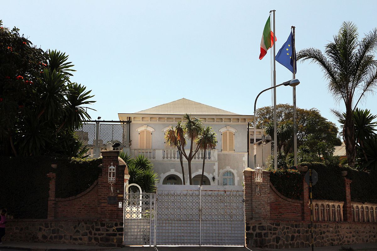 List of diplomatic missions in eritrea wikipedia for Ville italiane