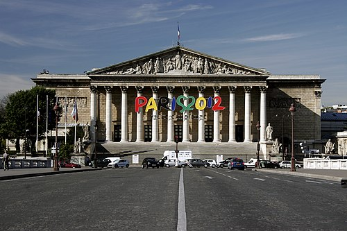 Assemblée Nationale, Palais Bourbon