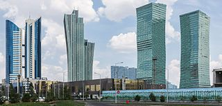 Astana Capital City in Kazakhstan