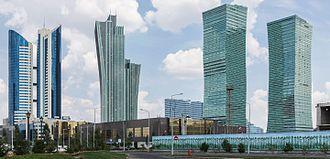 Astana - Image: Astana, capital of Kazakhstan 01