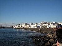 Atardecer en el Puerto de Las Nieves.JPG