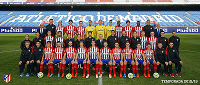 9e040940c Official photo of Atlético Madrid for 2015–16 season.
