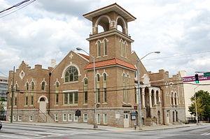First Congregational Church (Atlanta) - Image: Atlanta First Congregational Church 2012 09 15 08 6278
