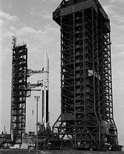 Atlas-Centaur mit Mariner 10 auf Pad 36B