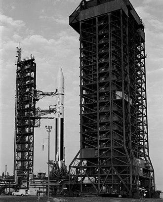 Atlas SLV-3 - Atlas SLV-3D Centaur-D1A rocket which launching Mariner 10