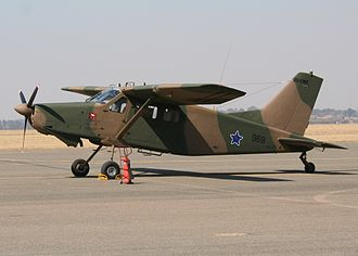 Aermacchi AL-60 - An Atlas C4M Kudu at the South African Air Force Museum