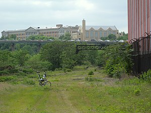 William L. Dickinson High School - Overlooking lower Jersey City