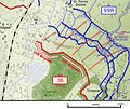 Attack on Schwaben Redoubt 1 July 1916 map.jpg