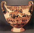 Attic Black-Figure Volute-Krater, known as the Francois vase, ca. 570-565 BCE.jpg