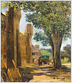 Au pied des Remparts Jean-Baptiste Cyprien Brunel 1844 – 1919.jpg