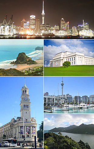 Auckland montage
