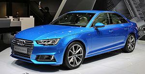 Audi A4 - Image: Audi A4 2.0 TFSI quattro