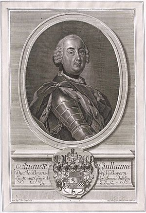 Augustus William, Duke of Brunswick-Bevern - Image: August Wilhelm Braunschweig Bevern Ph A Kilian
