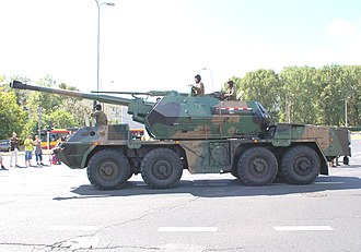 Operational Structure of the Polish Land Forces - DANA 152mm self-propelled howitzer