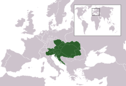 Location of Austrijos imperija
