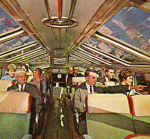 Capitol Limited (B&O train) - Dome car on the Capitol Limited
