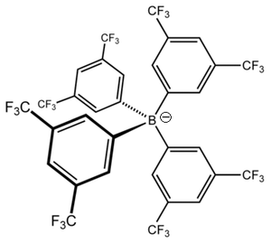 Tetrakis(3,5-bis(trifluoromethyl)phenyl)borate - Image: BARF