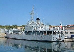 BATRAL-class landing ship - Image: BATRAL francis garnier 36