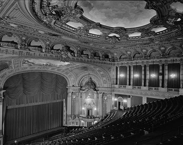 BF Keith Memorial Theatre, Boston interior