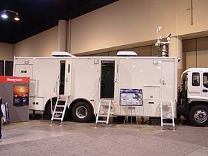 BMRST - The BMRST Control System Truck on display at the Strategic Space Conference in Omaha Nebraska, October 2005