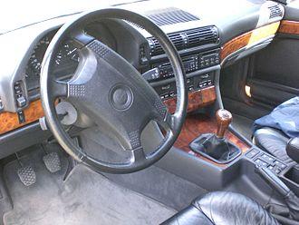 BMW 7 Series (E32) - Interior