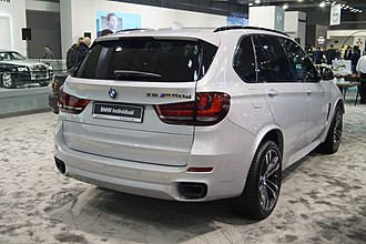 BMW X5 (F15) - BMW X5 M 50d