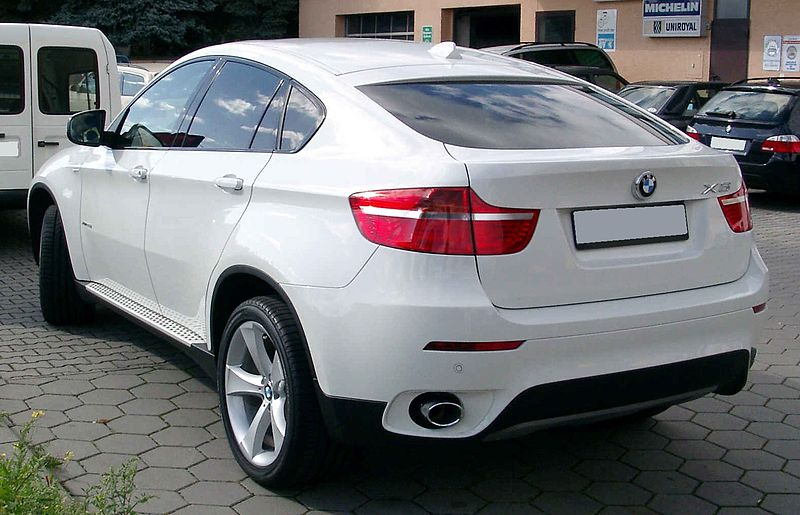 File Bmw X6 Rear 20081002 Jpg Wikimedia Commons