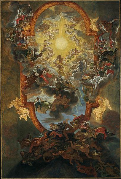File Baciccio The Triumph Of The Name Of Jesus 1676 79