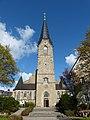 Bad Leonfelden Pfarrkirche - Fassade.jpg