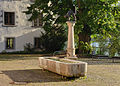 Bad Säckingen - Brunnen Kater Hiddigeigei.jpg