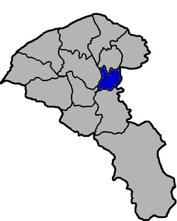 Location of Bade