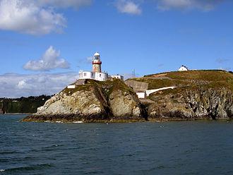Baily Lighthouse - Baily Lighthouse, Howth. Seen from Dublin Bay. 2013