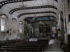 Immaculate Conception Parish Church (Balayan) - Nave of Balayan Church