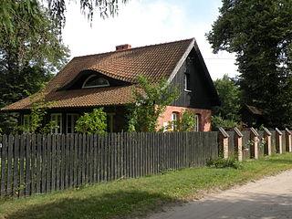 Bałdzki Piec Village in Warmian-Masurian Voivodeship, Poland