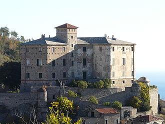Balestrino - Image: Balestrino castello 3