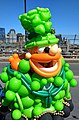 Balloon leprechaun at Boston's St Patrick's Day Parade in 2018.jpg