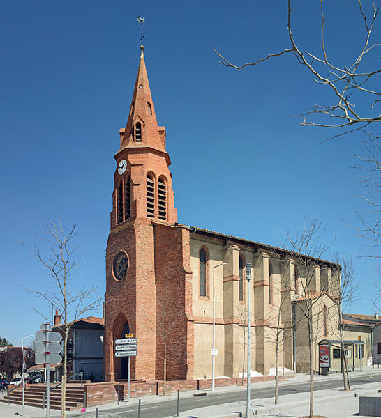 English:  Church St. Joseph, Balma, Haute-Garonne, France