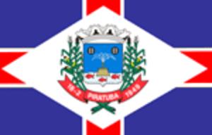 Piratuba - Image: Bandeira piratuba sc bra