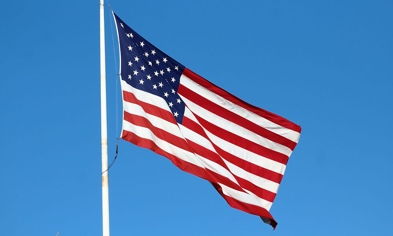 Archivo bandera de ee uu en newport california jpg - Tamanos de baneras ...